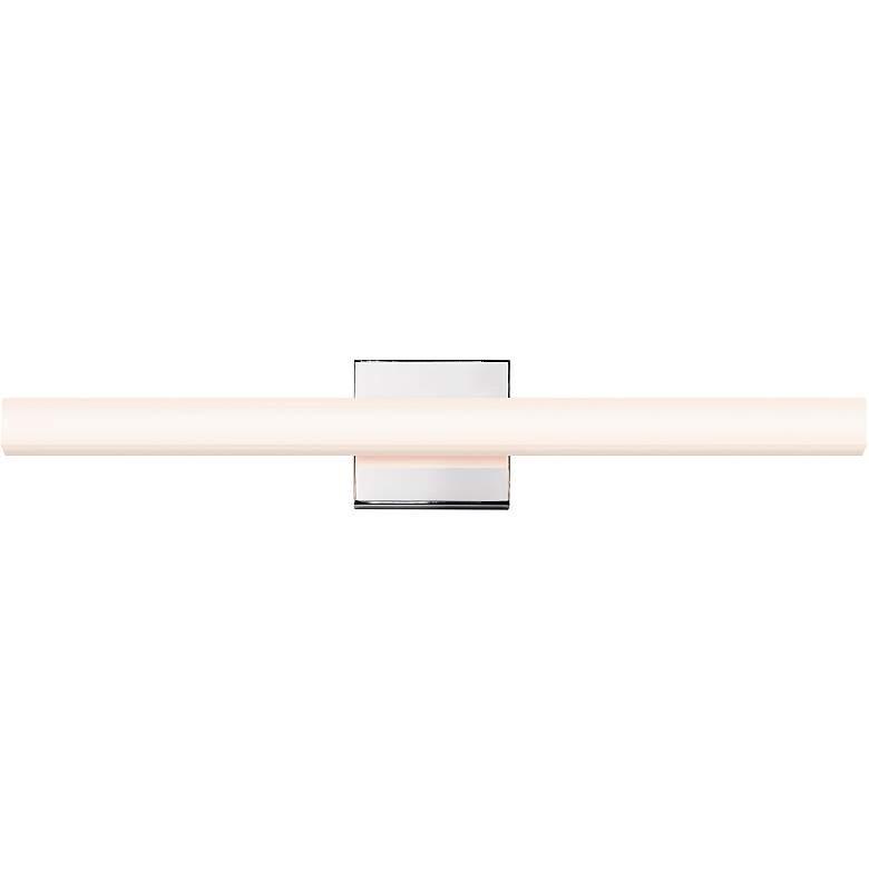 "Sonneman Sq-Bar 24"" Wide Polished Nickel LED Bath Light"
