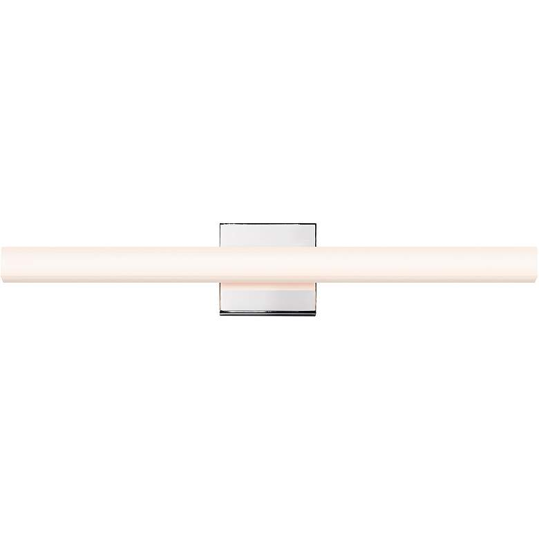 "Sonneman Sq-Bar 24"" Wide Polished Chrome LED Bath Light"