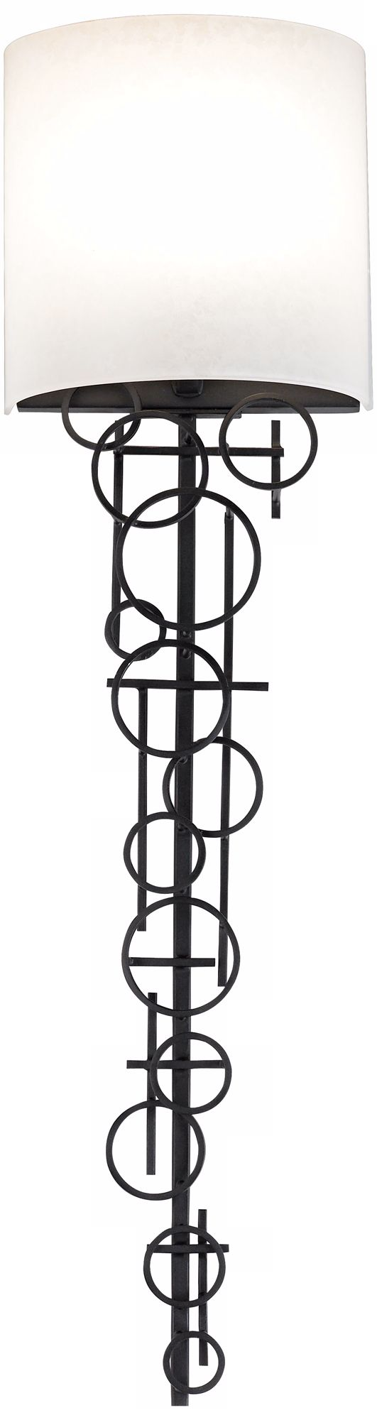 George Kovacs Circles Collection 30u201d High Wall Sconce