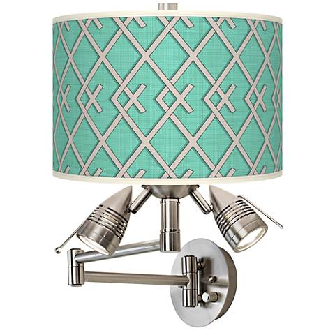 Crossings Giclee Swing Arm Wall Light
