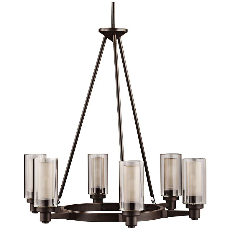 Circolo Collection Olde Bronze 26 Wide Chandelier
