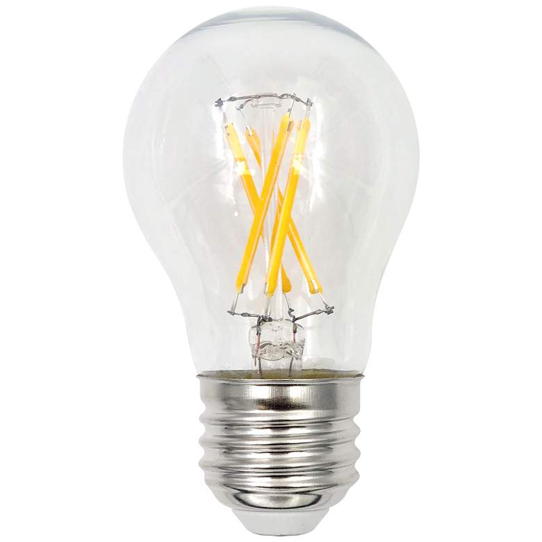 75W Equivalent Clear 8W LED Dimmable Standard A15 Bulb