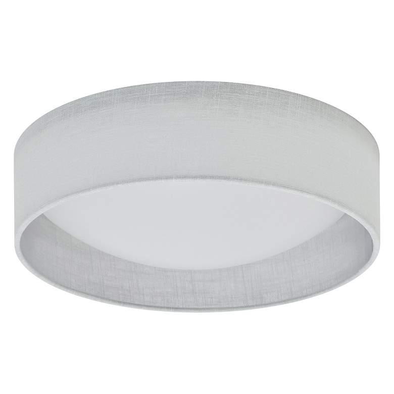 """Gerritt 11"""" Wide White Round LED Ceiling Light"""