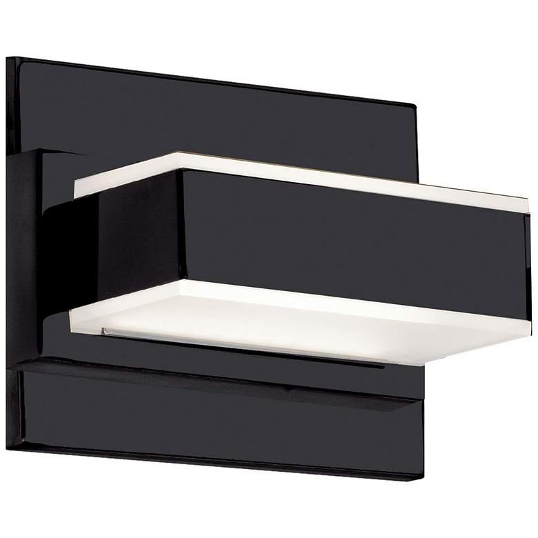 "Cashman 4 1/2"" High Matte Black LED Wall"