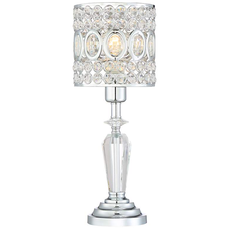 """Tori 17"""" High Crystal Accent Table Lamp"""