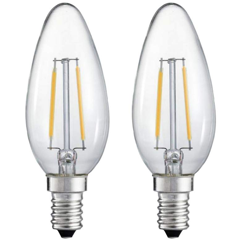 25W Equivalent Clear 2W LED Night Filament Light