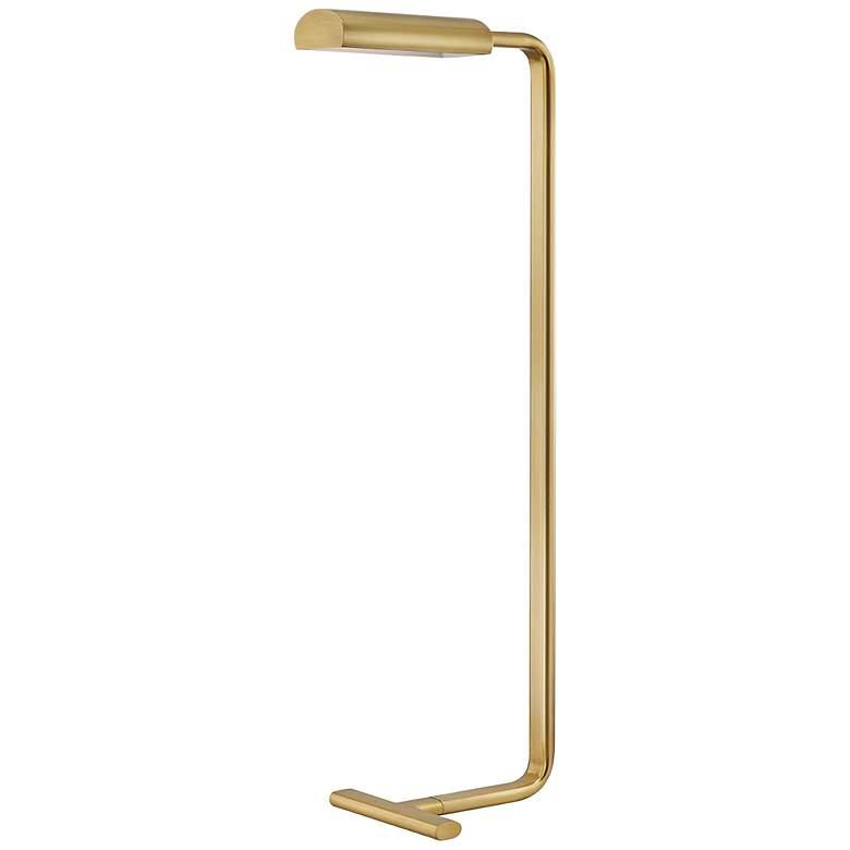 Hudson Valley Renwick Aged Brass LED Floor Lamp