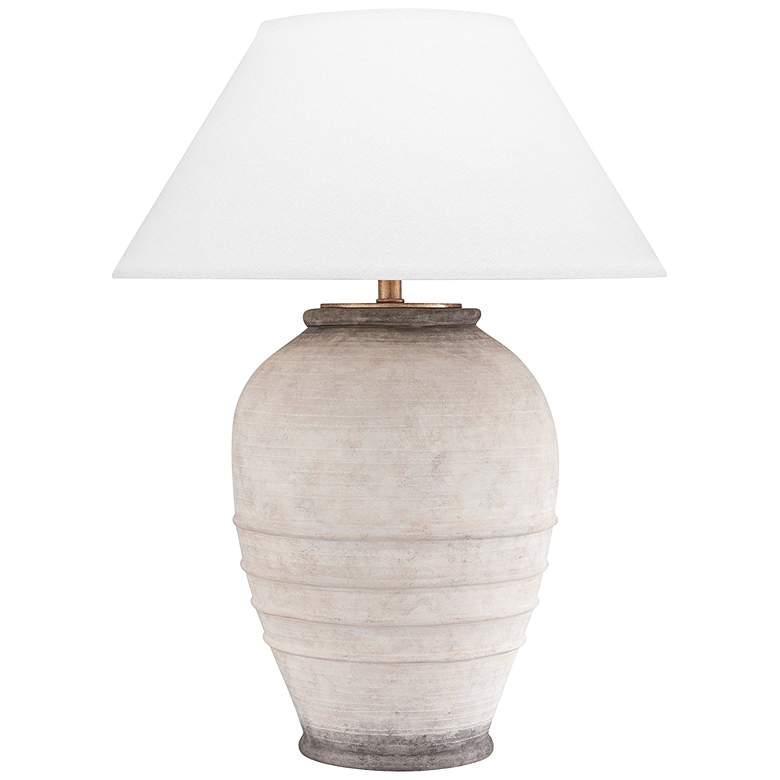 Hudson Valley Decatur Ash Ceramic Table Lamp