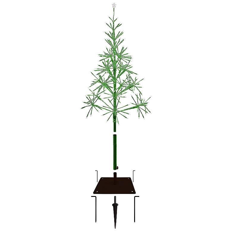 "Festive Green 53""/61""H LED Artificial Christmas Tree"
