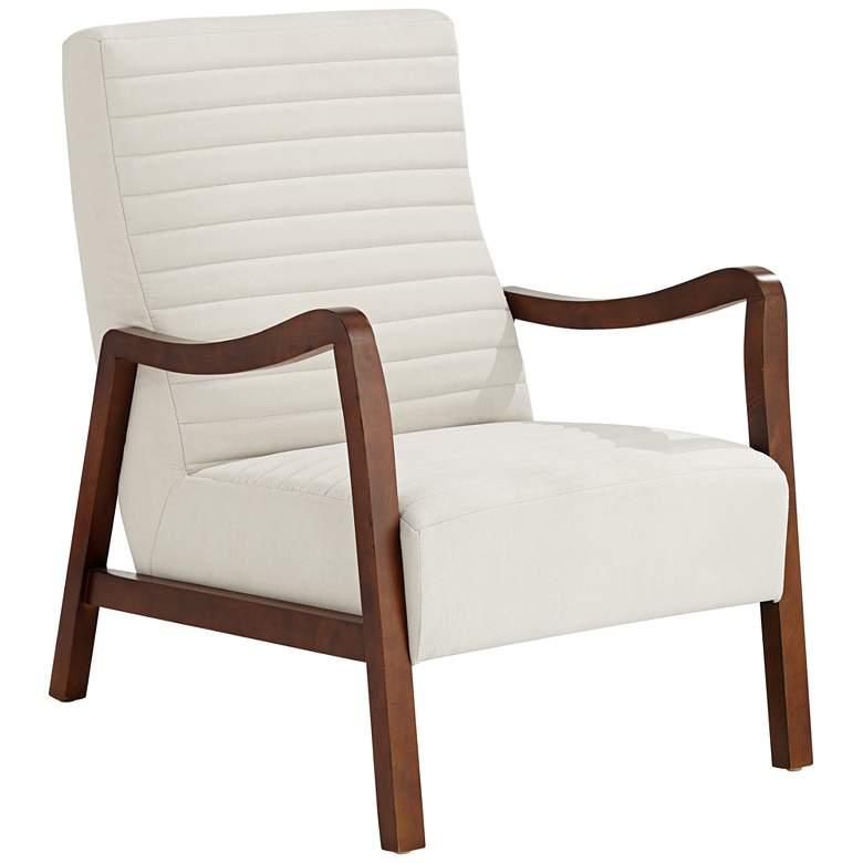 Columbe Modern White Lounge Chair