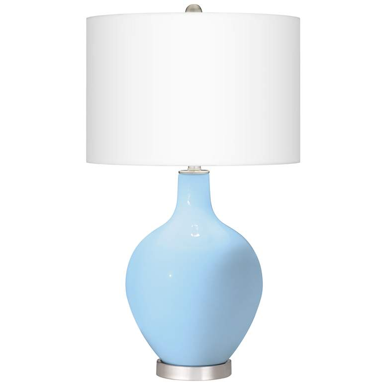Wild Blue Yonder Ovo Table Lamp With Dimmer