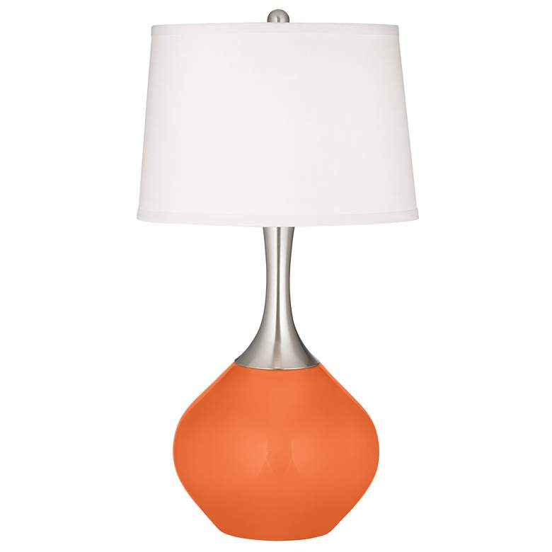 Nectarine Spencer Table Lamp with Dimmer