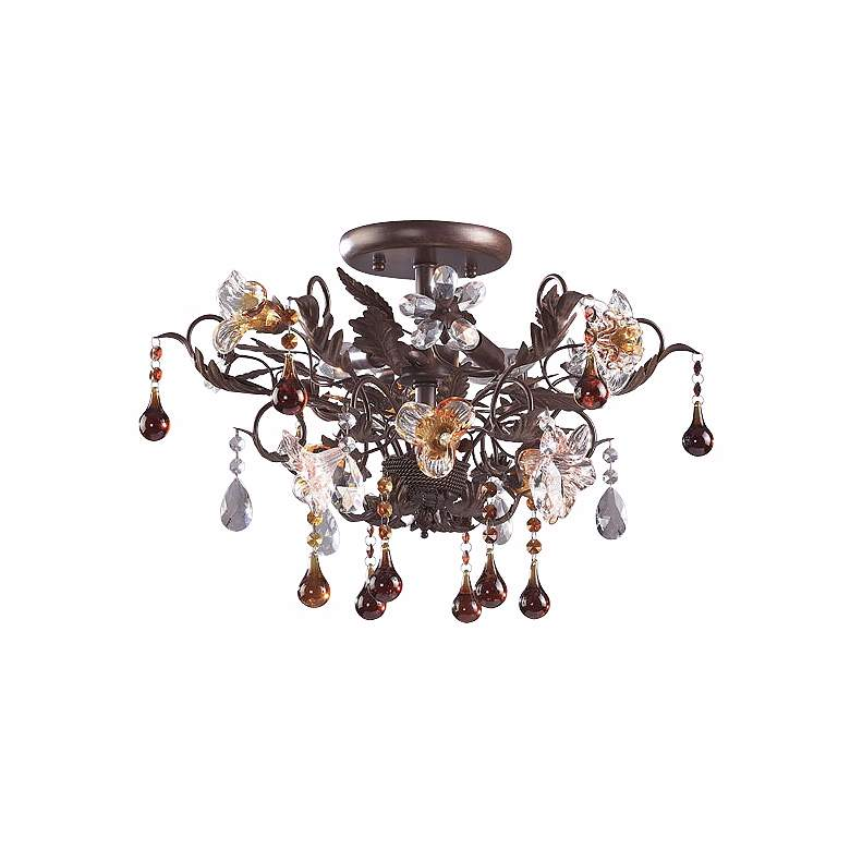 """Ghia Collection 19"""" Wide Ceiling Light Fixture"""