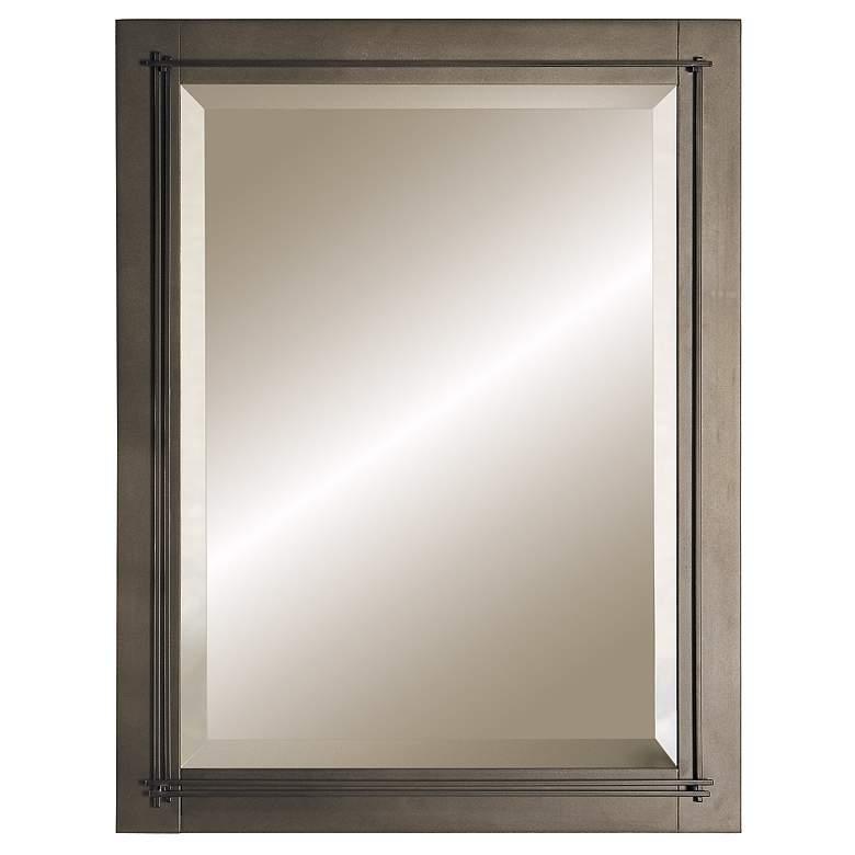 "Hubbardton Forge Metra Bronze 21 3/4"" x 27 3/4"" Mirror"
