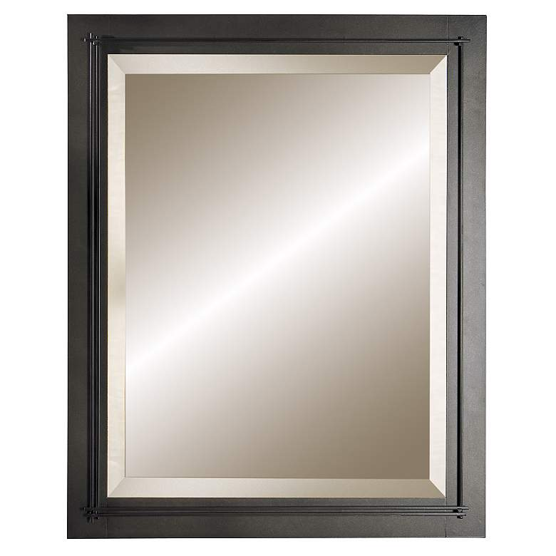 "Metra Dark Smoke 26 1/4"" x 32 1/4"" Wall Mirror"