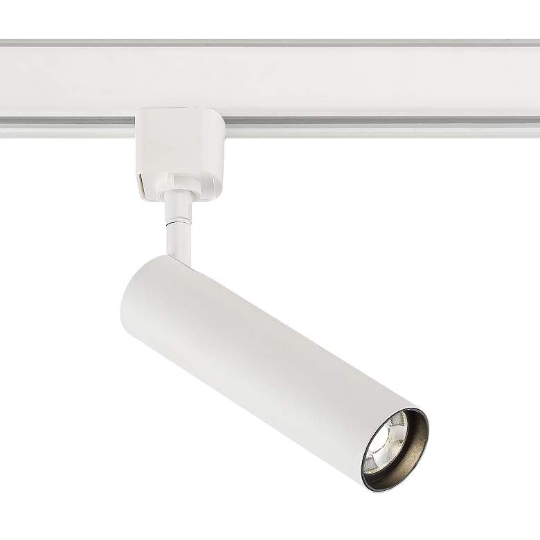 Eurofase White 7 Watt LED Cylinder Track Head
