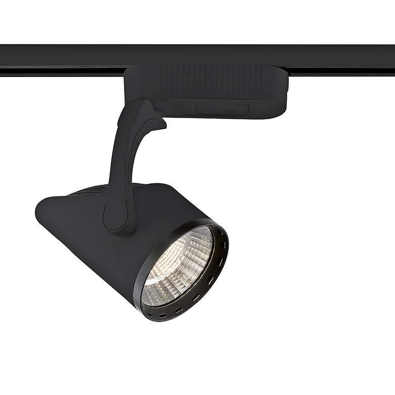 Eurofase Black 20 Watt LED Fin Track Head