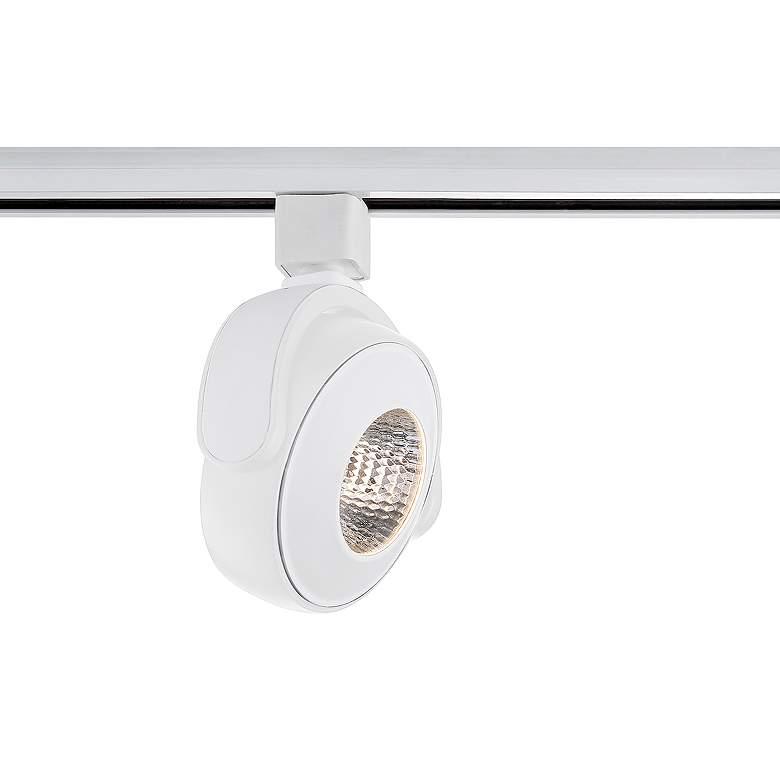 Eurofase White 30 Watt LED Disc Track Head