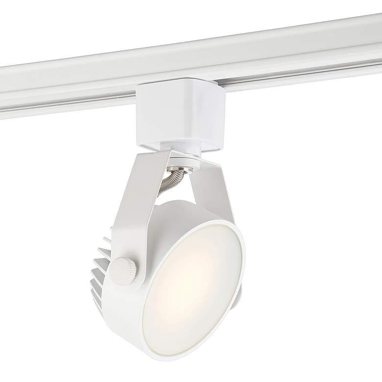 Eurofase White 9 Watt LED Disc Track Head