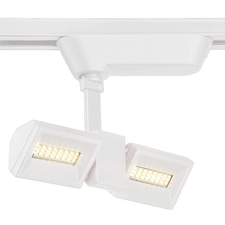 Eurofase White 10 Watt LED Rectangular Dual Track