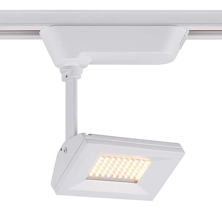 Eurofase White 10 Watt LED Rectangular Track Head
