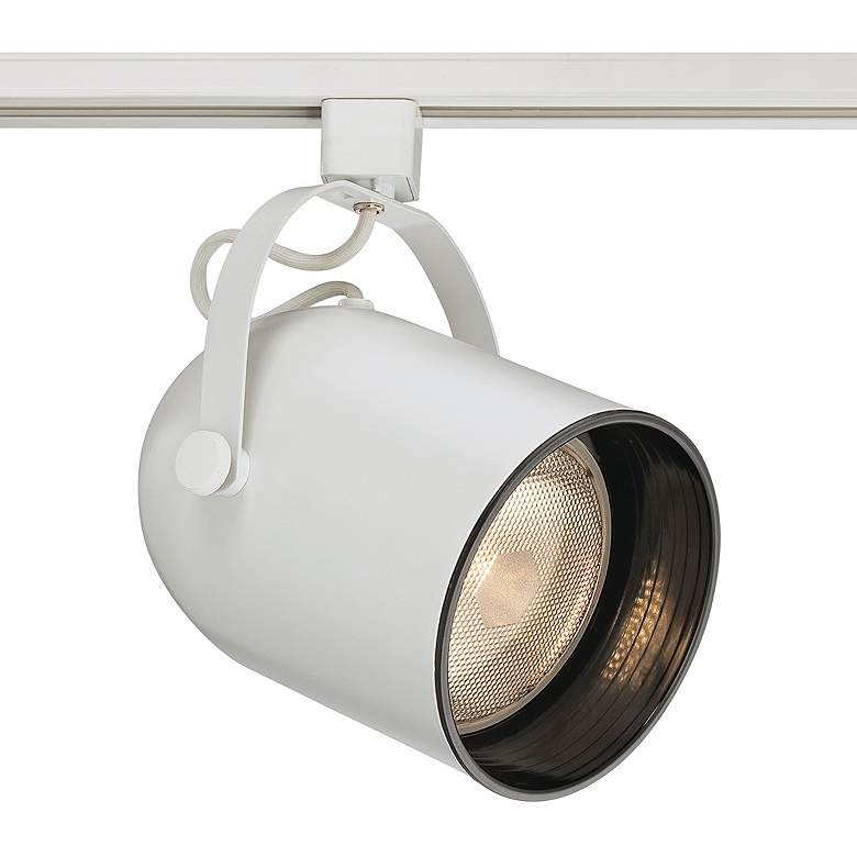 Eurofase White PAR38 Gimbal Bullet Cylinder Track Head