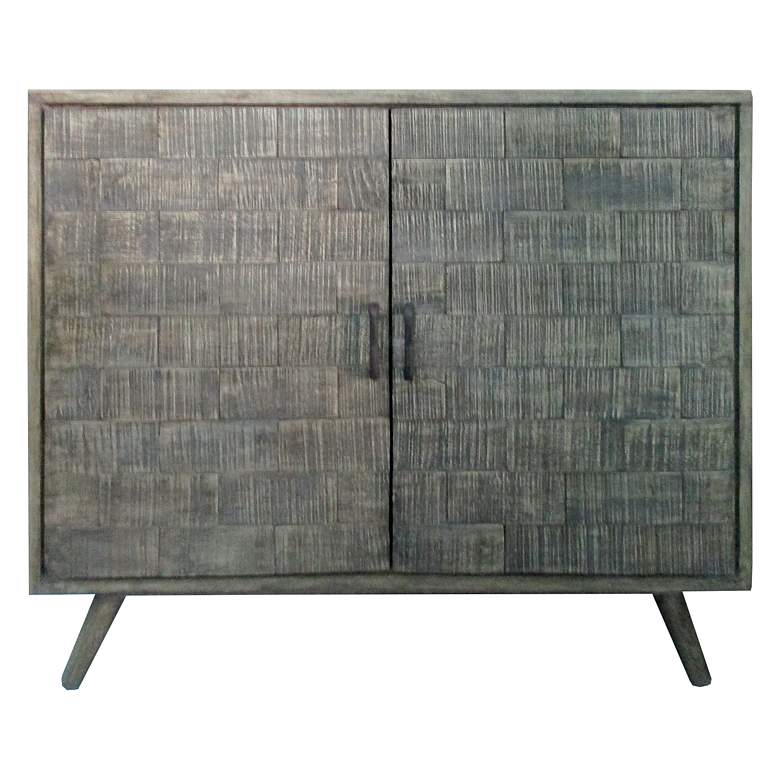"Bengal Manor 38"" Wide Rough Hewn 2-Door Tile"
