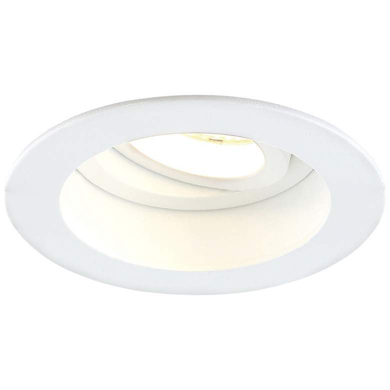 """Eurofase Amigo 3 1/4"""" White 15W LED Round"""