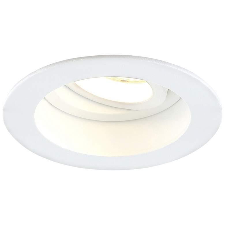 """Eurofase Amigo 3 1/4"""" White 15W LED Round Gimbal Downlight"""