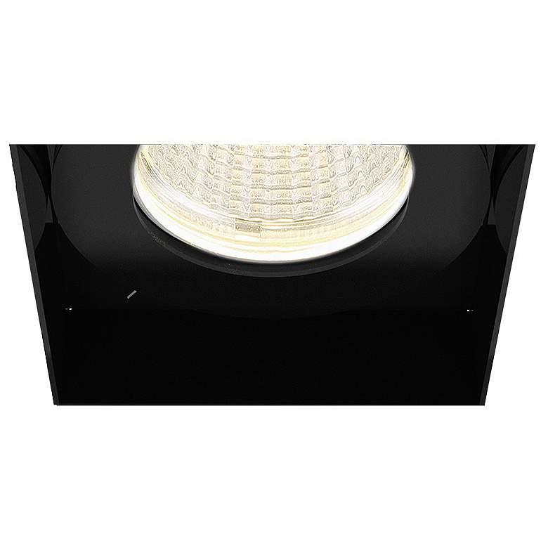 """Amigo 3"""" Black 15W LED Square Trimless Recessed"""