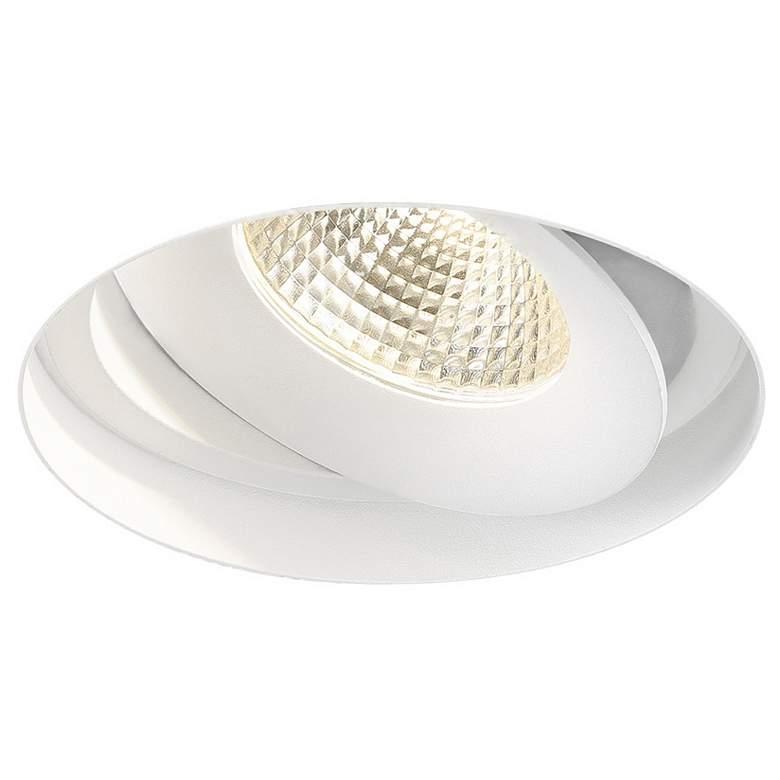 "Amigo 6 1/8"" White 26W LED Round Trimless"