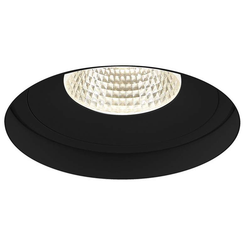 "Amigo 6 1/8"" Black 26W LED Round Trimless"