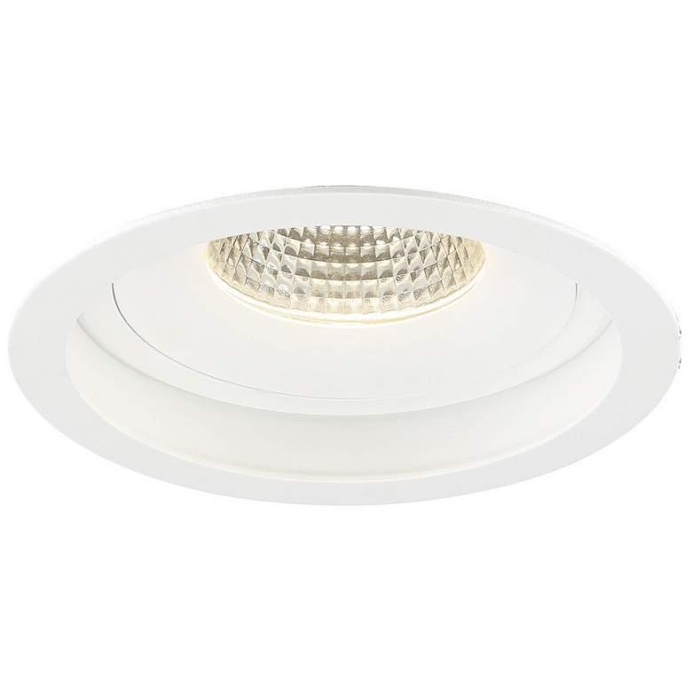 """Eurofase Amigo 6 1/4"""" White 26W LED Round"""