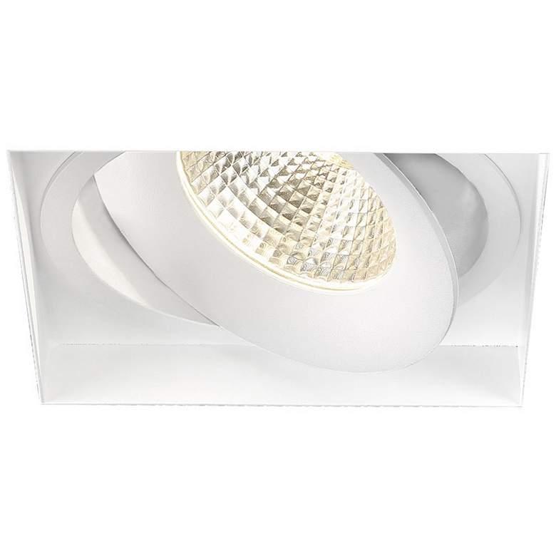 """Amigo 6 1/8"""" White 26W LED Square Trimless"""
