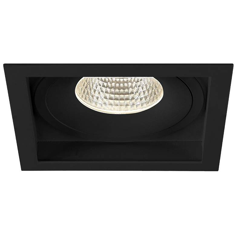 "Amigo 6 1/4"" Black 26 Watt LED Square"