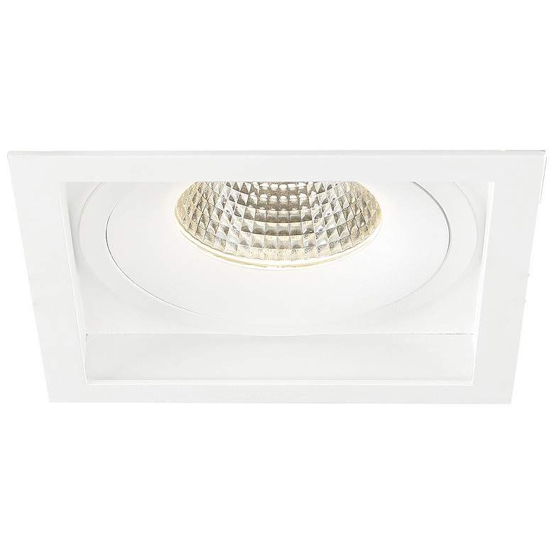 "Amigo 6 1/4"" White 26 Watt LED Square"