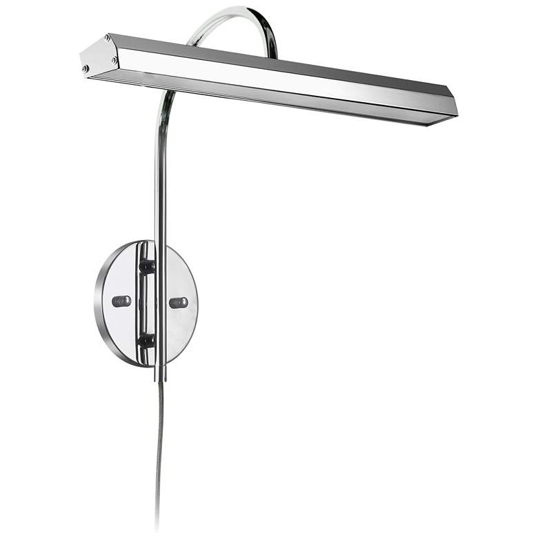 """Staccato 16 1/4"""" Wide Polished Chrome LED Picture Light"""