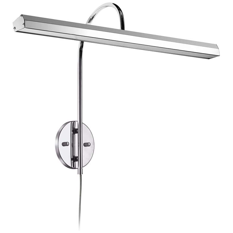 """Staccato 24 1/4"""" Wide Polished Chrome LED Picture Light"""