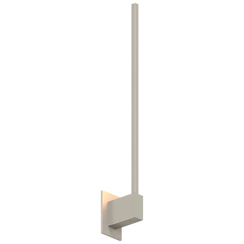 """Koncept Z-Bar 24""""H Brushed Nickel End-Mount LED Wall"""