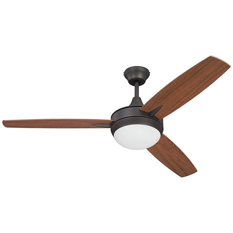 "52"" Craftmade Targas Espresso LED Ceiling Fan"