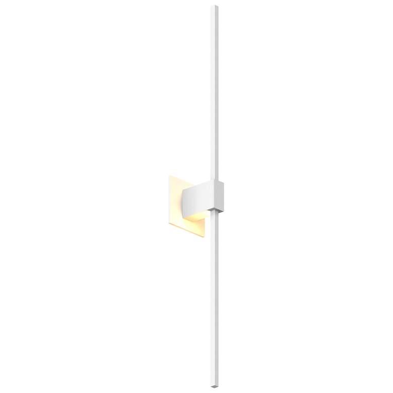 "Koncept Z-Bar 36""H Matte White Center-Mount LED Wall Sconce"