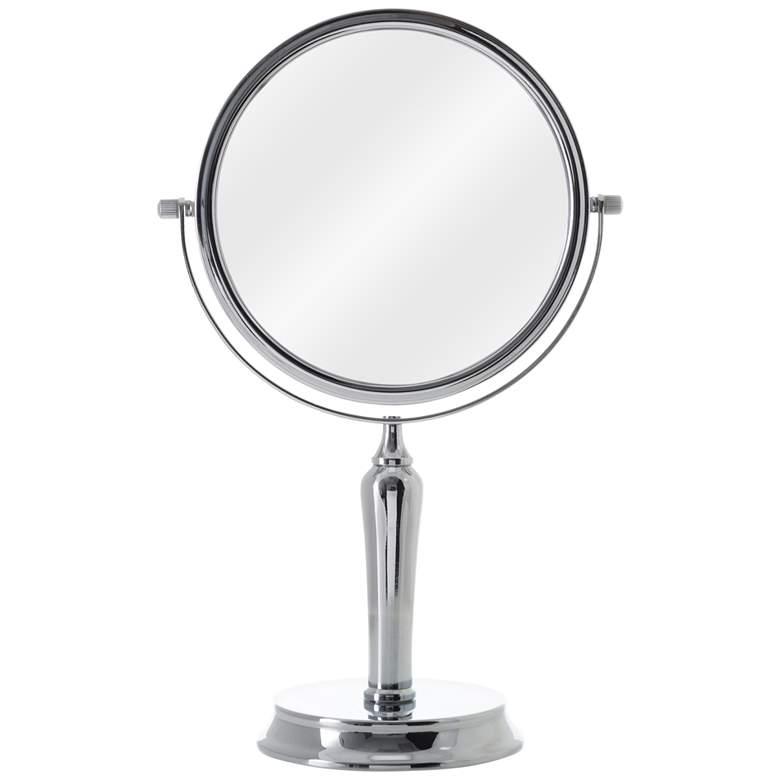 Anaheim Chrome 5X/1X Magnified Swivel Vanity Mirror