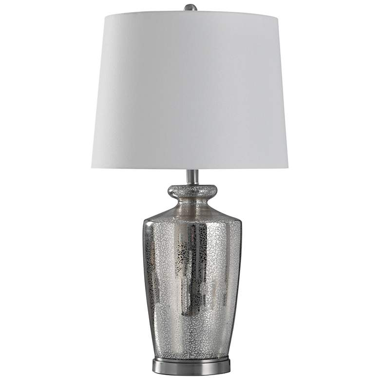Hill Mercury Glass and Steel Table Lamp