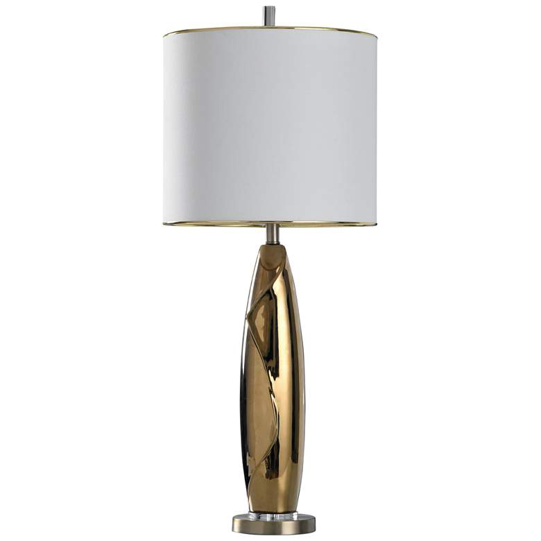 Guildford Gold Glaze Fluid Ceramic Table Lamp