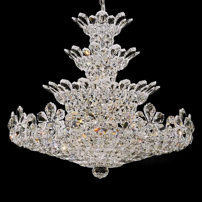 "Schonbek Trilliane Collection 30"" Wide Crystal Chandelier"
