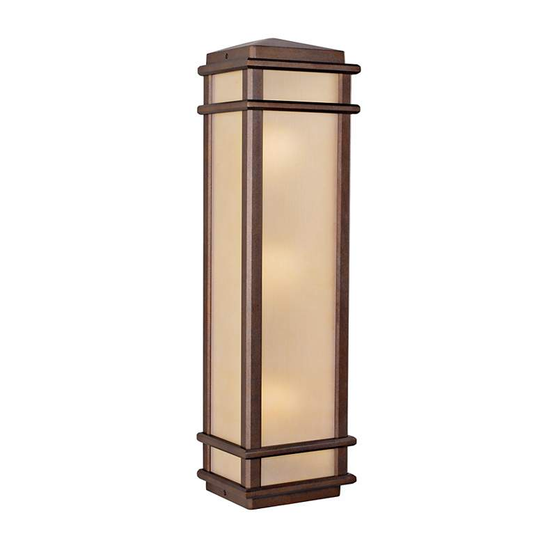 "Feiss Mission Lodge 26"" High Outdoor Wall Light"