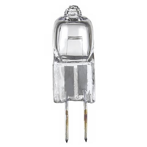 5-Watts 12- Volts G6.35 Bi-Pin Halogen  Light Bulb