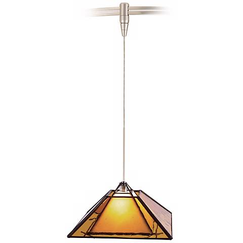 Oak Park Amber Tech Lighting MonoRail Pendant