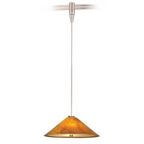 Larkspur Amber Mini Tech Lighting MonoRail Pendant