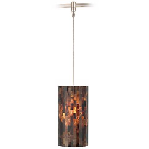 Playa Brown Tech Lighting MonoRail Pendant Light
